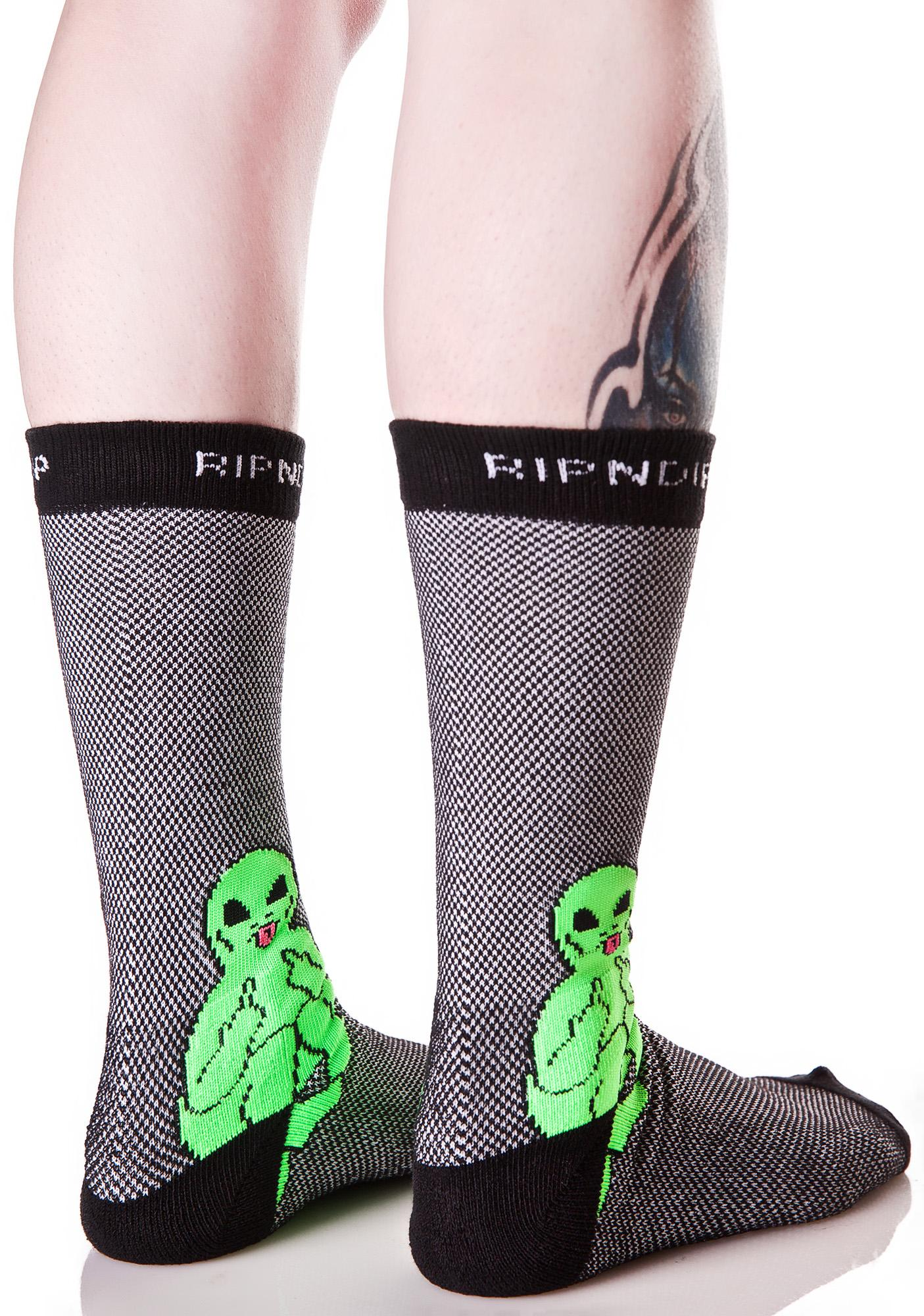 RIPNDIP Lord Alien Socks