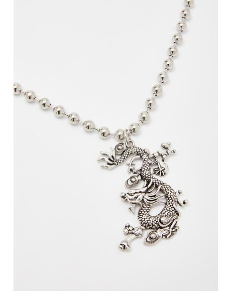 Dragon Slayer Chain Necklace