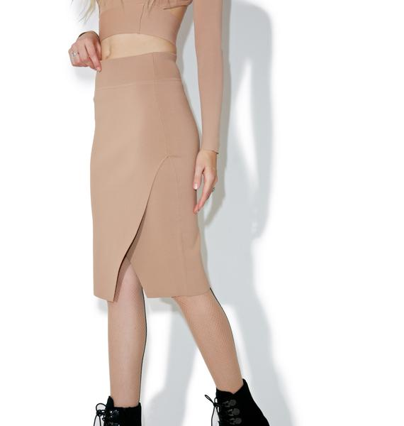 Kendall + Kylie Compact Pencil Skirt