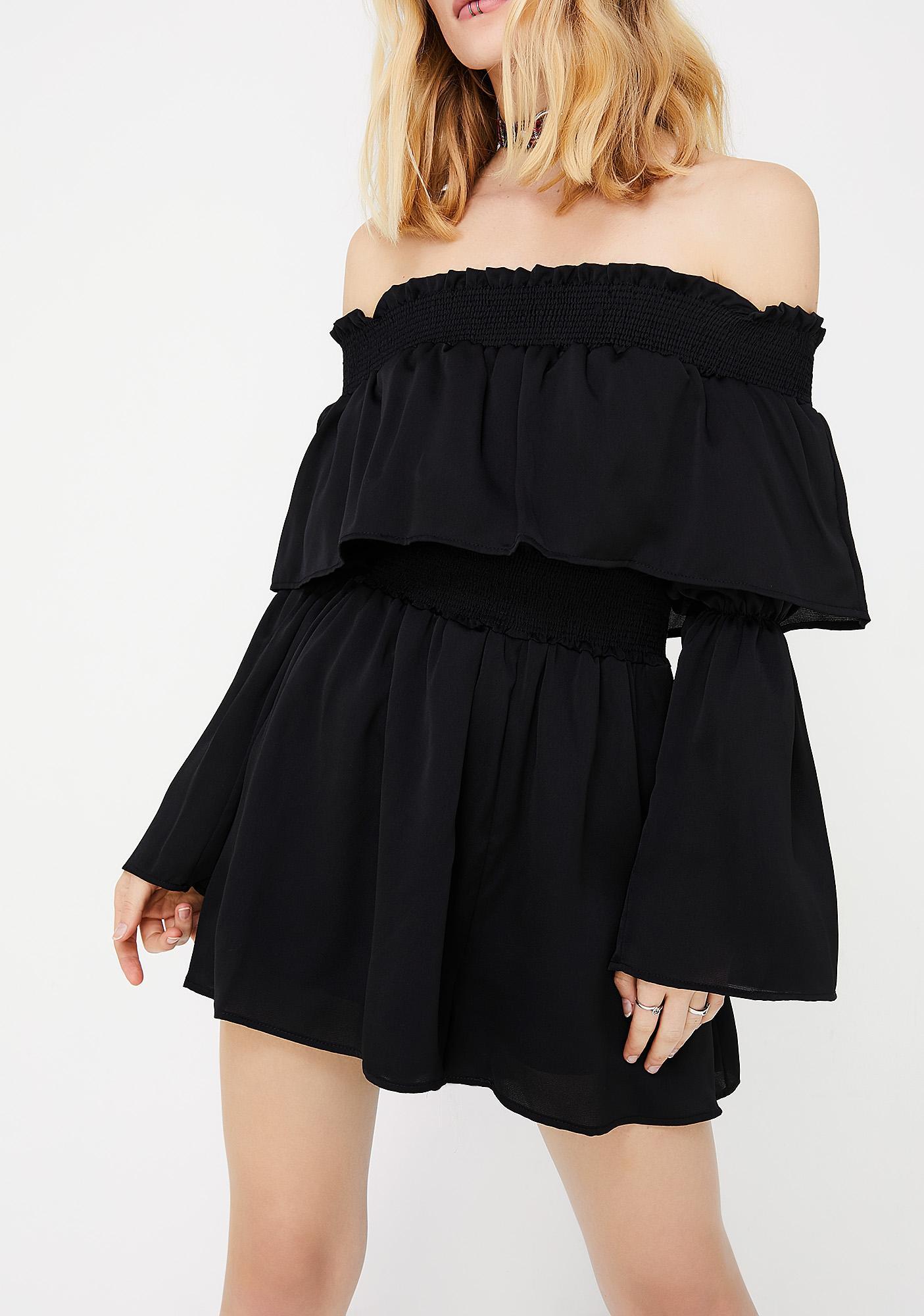 In Tiers Mini Dress
