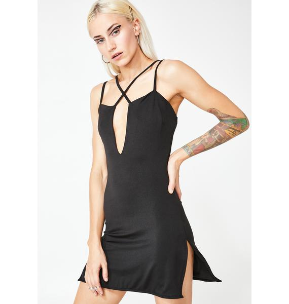 Roma Don't Cross Me Mini Dress