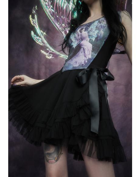 Chaos Magic Wrap Mini Skirt