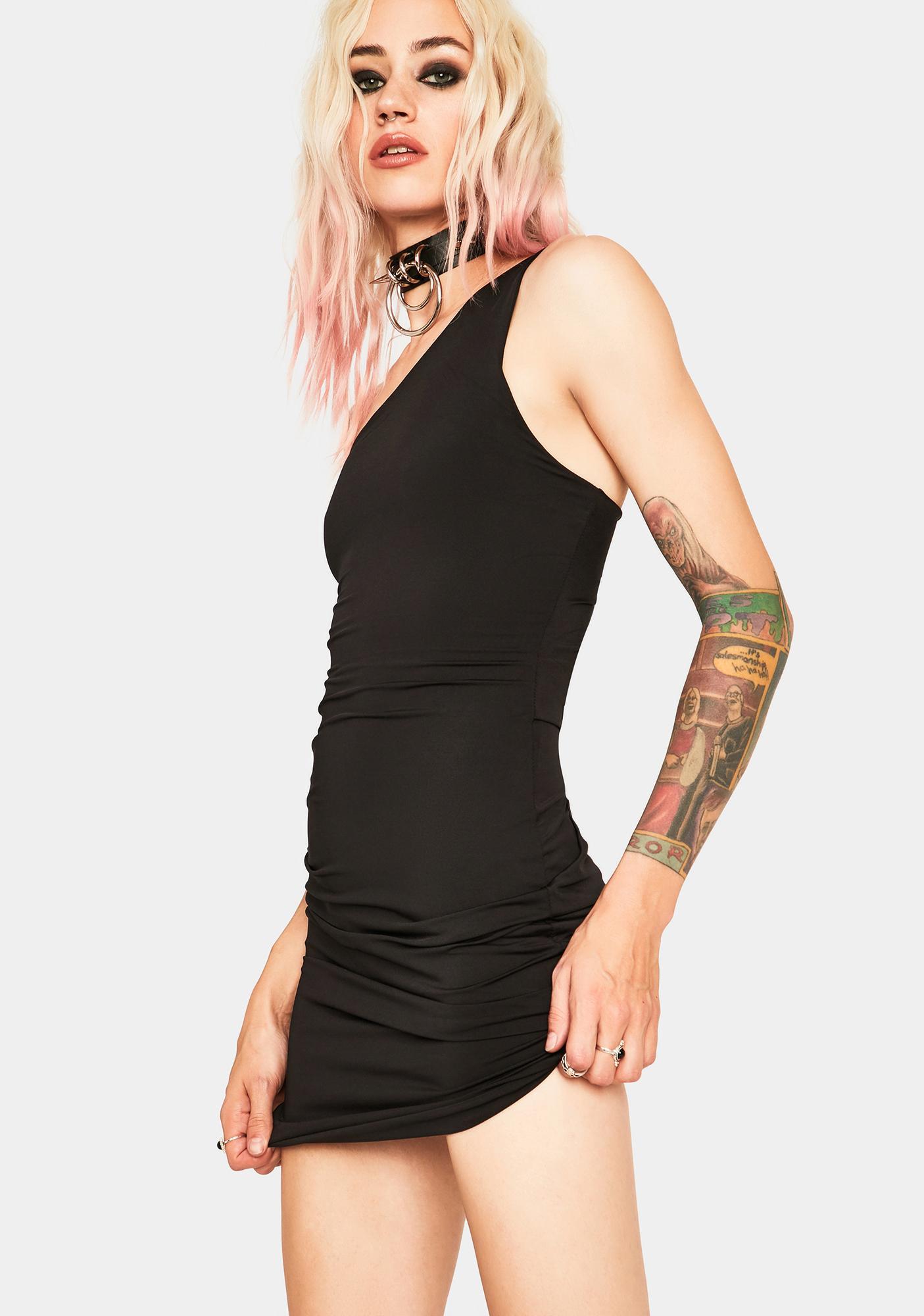 SNDYS. THE LABEL Annie Asymmetrical Dress