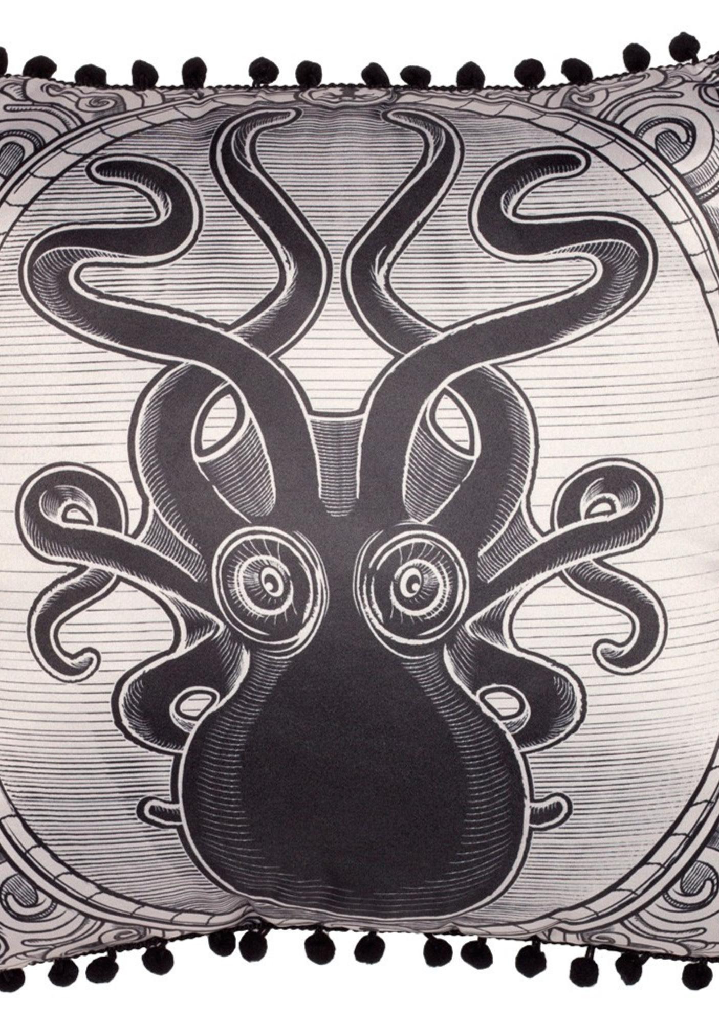 Sourpuss Clothing Kraken Up Pillow