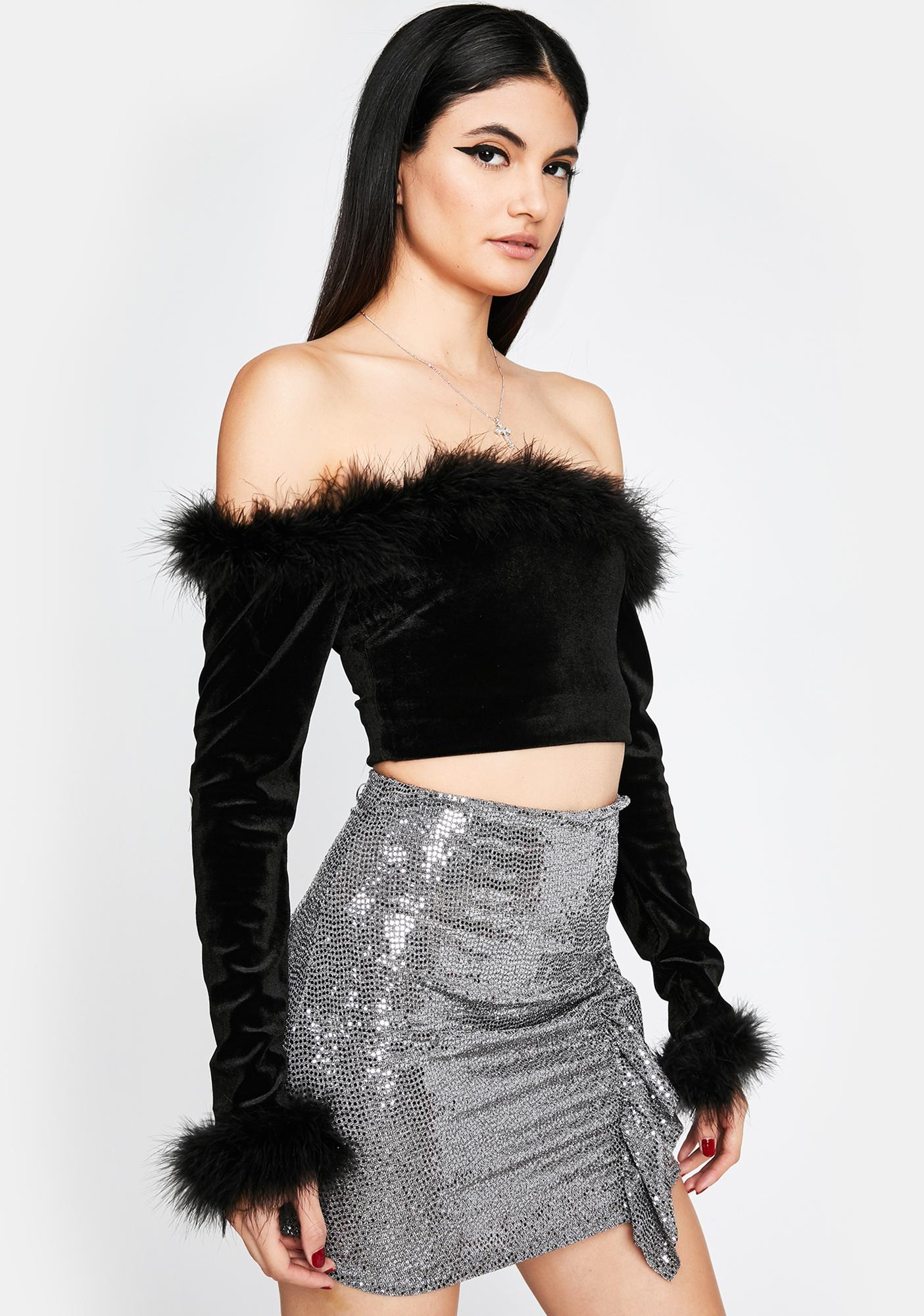 Club Groover Sequin Skirt