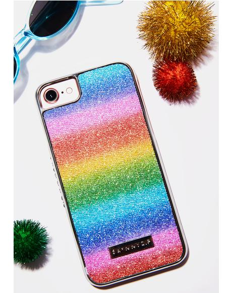 Rainbow Paris Iphone Case