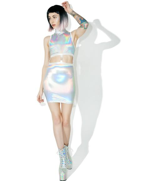 Gravitational Hologram Dress Set