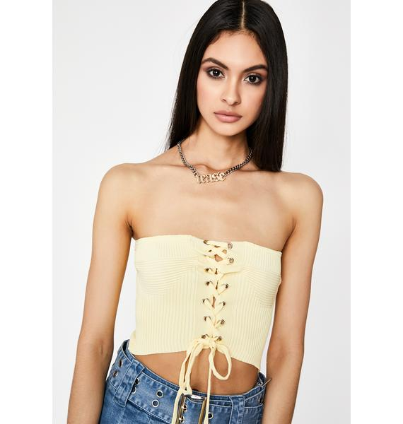 Honey Hooked On Me Tube Top