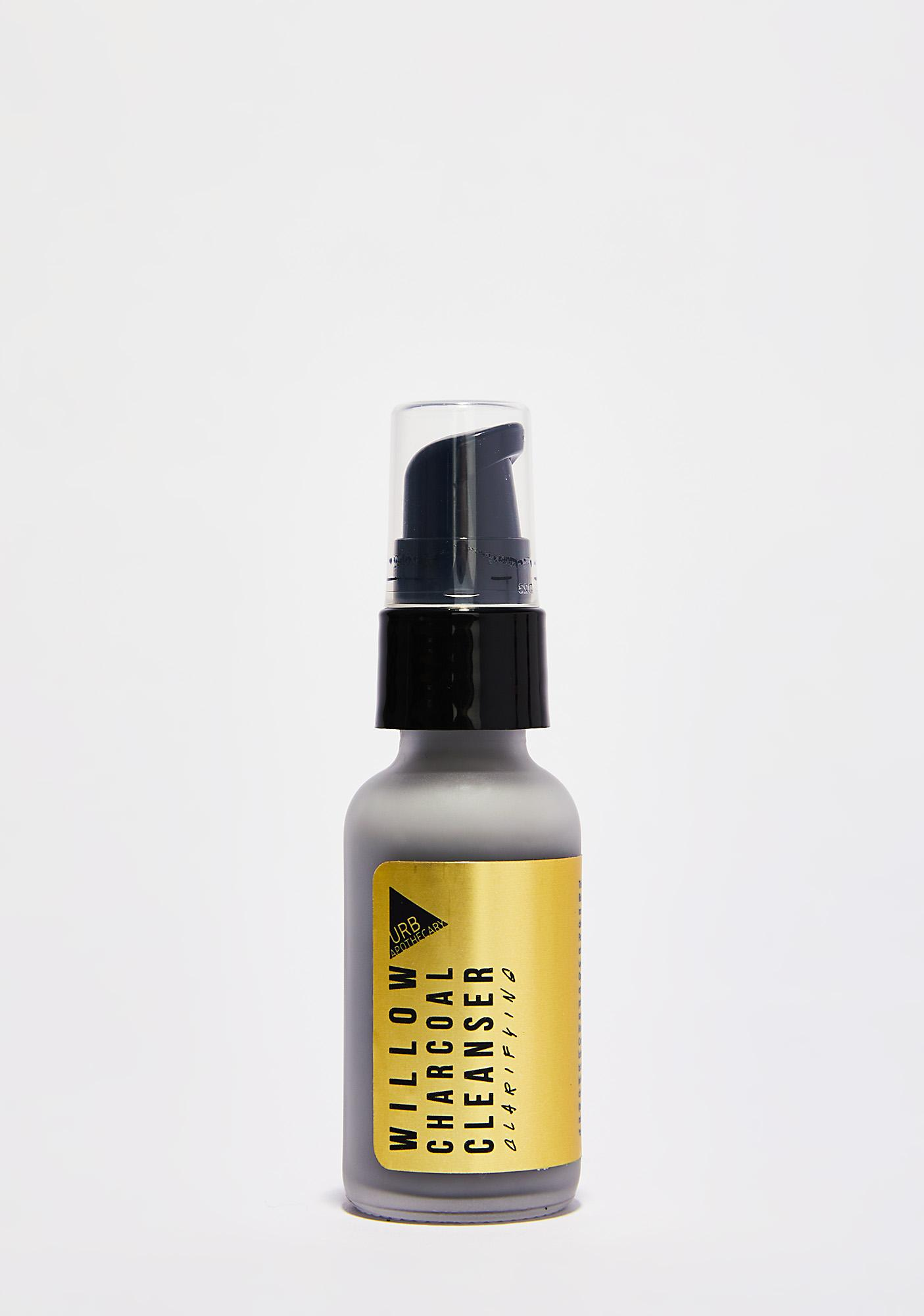 URB APOTHECARY Willow Charcoal Cleanser