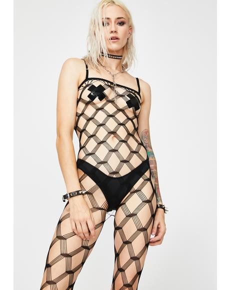 Total Illusion Fishnet Bodystocking