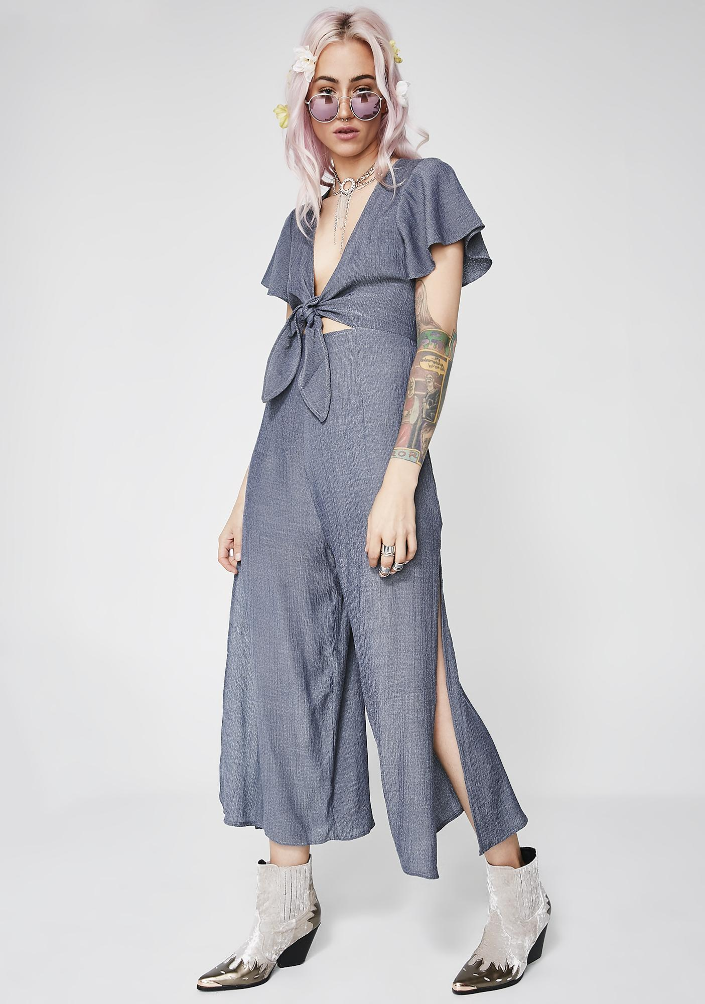 Storm Knot For Keeps Jumpsuit