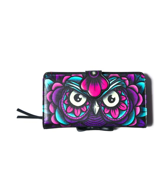 Iron Fist What A Hoot Wallet