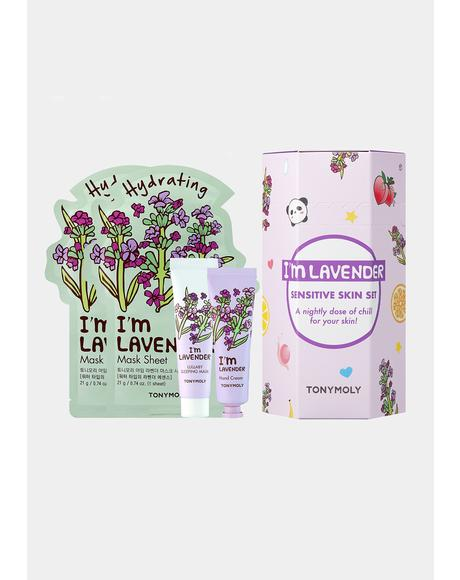 I'm Lavender Mask Hand Cream Set