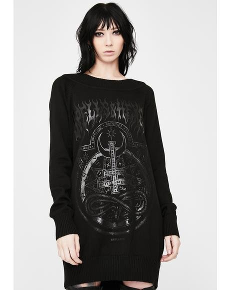 Spells & Hexes Knit Sweater