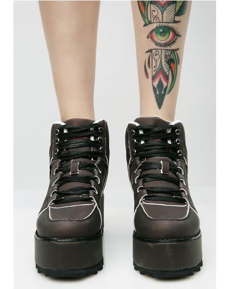 Alter Ego Qozmo Platform Sneakers