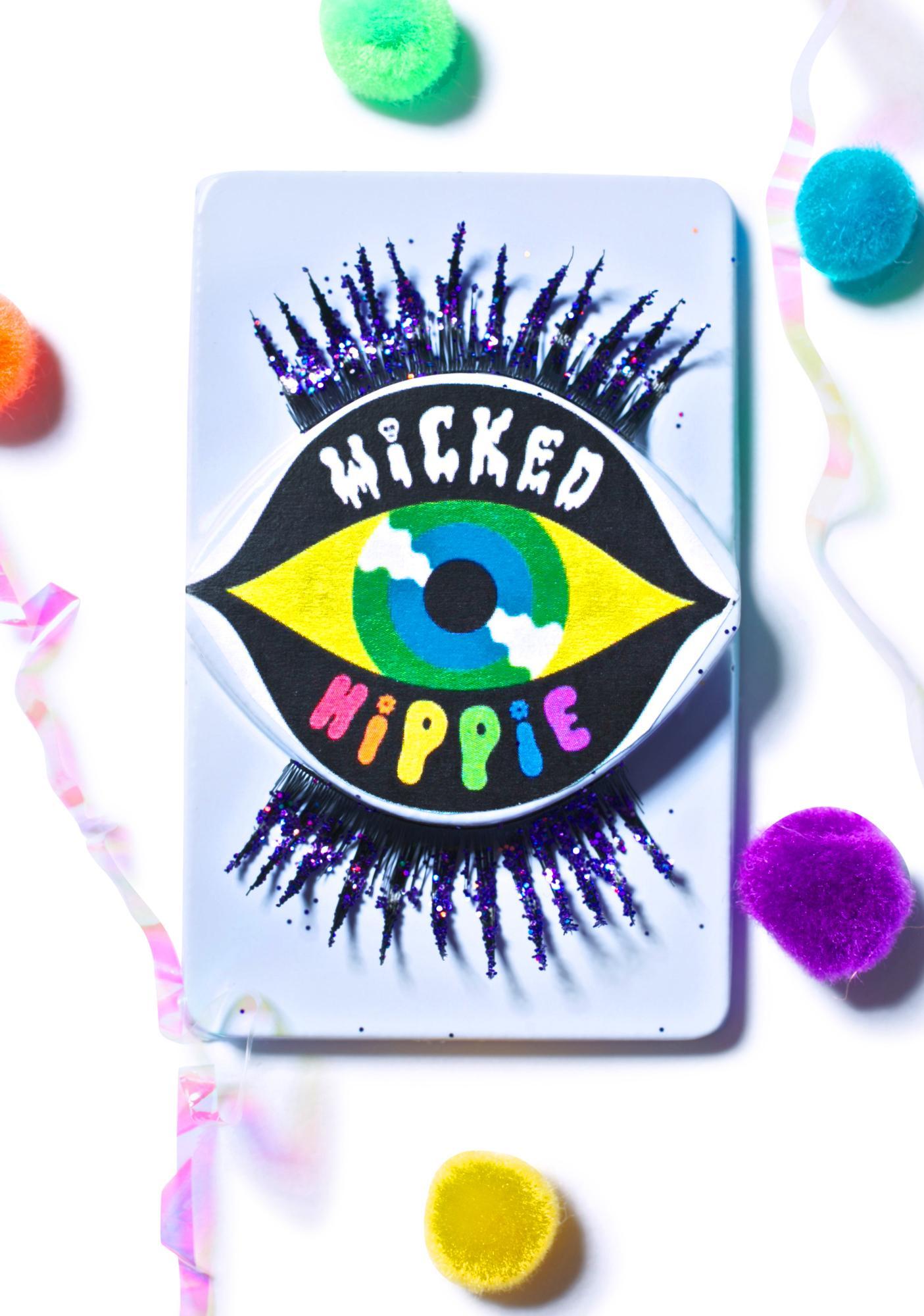 Wicked Hippie Mercy Glitter Death Lashes