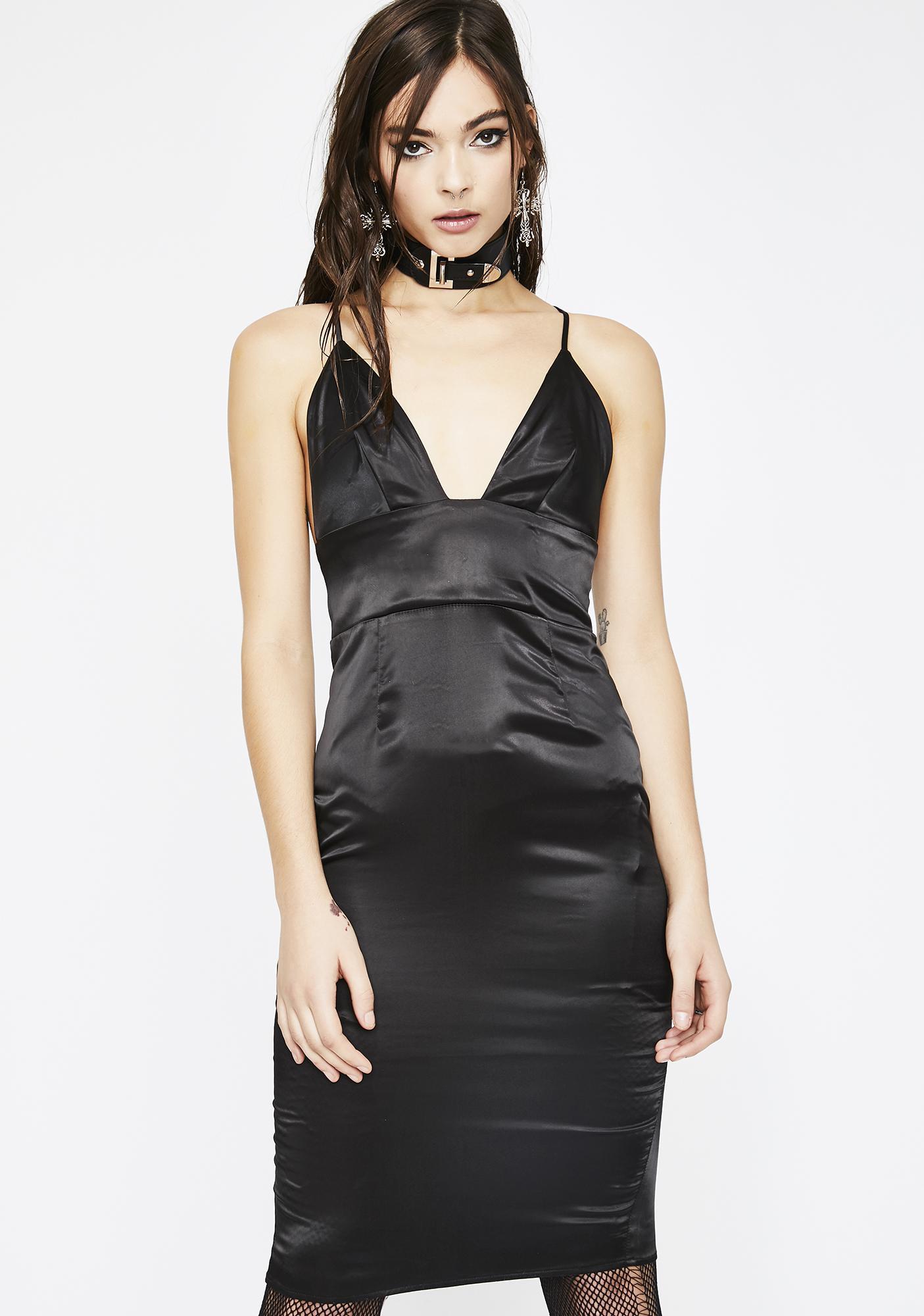 Buy Me A Drink Satin Dress