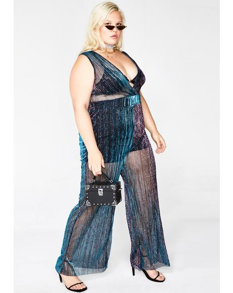 Magic Dream Bae Iridescent Jumpsuit