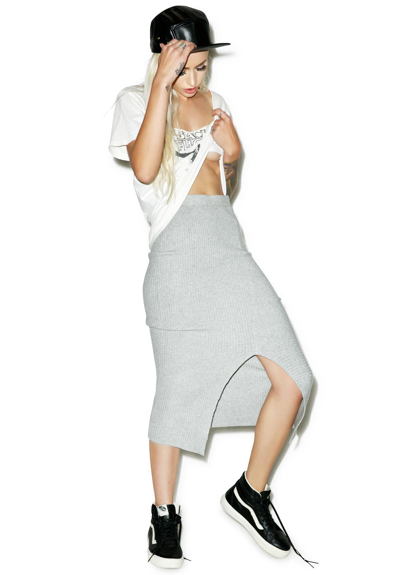 Cheap Monday Rive Knit Skirt