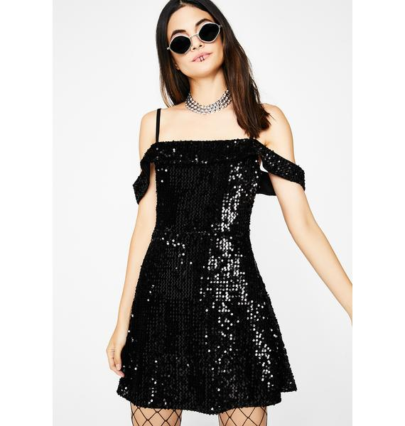 The Last Dance Sequin Dress
