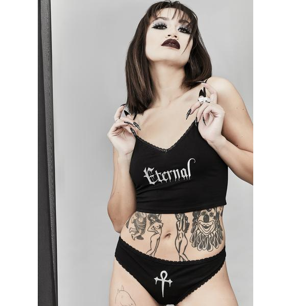 Widow Everlasting Evil Lingerie Set