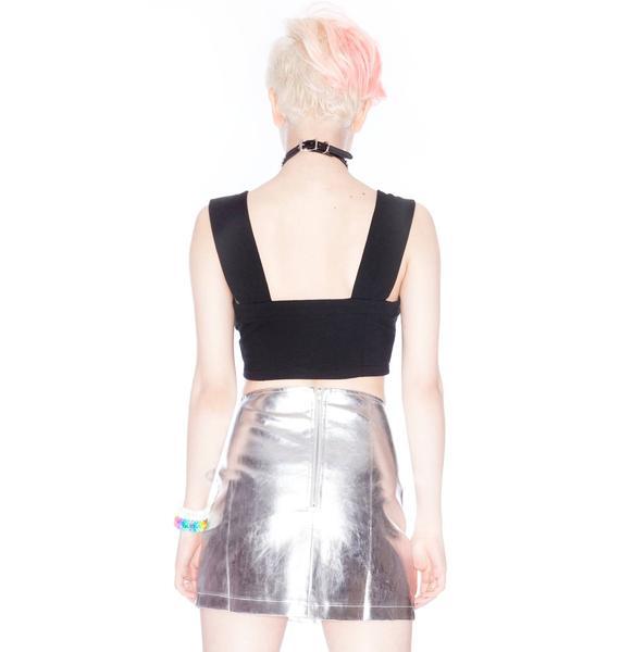 Stylestalker Heavy Metal Skirt