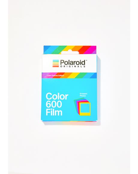 600 Color Film Color Frames