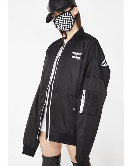 Boy Fake Drop Shoulder Jacket