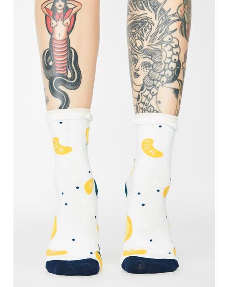 Main Squeeze Crew Socks
