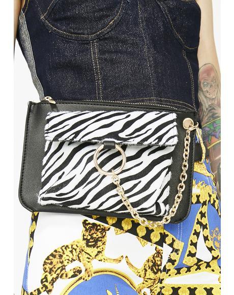 Earn Ya Stripez Zebra Fanny Pack