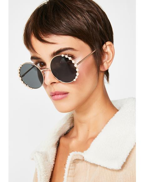 Feelin' Fancy Pearl Sunglasses
