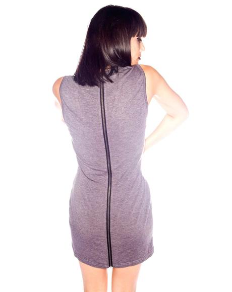 Outlaw Zip Mini Dress