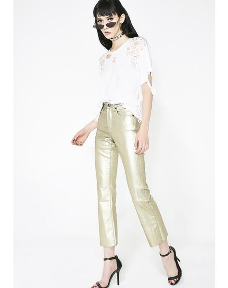 Blondie Fluted Jeans