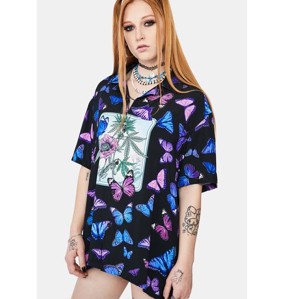 HUF Papillon Button Up Shirt