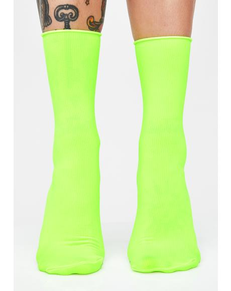 Shock Spectrum Neon Socks
