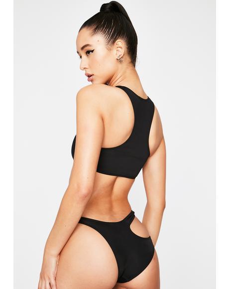 Black Freya Bikini Bottoms