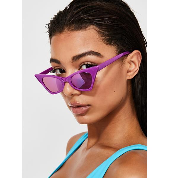 Prisma Glare Cat Eye Sunglasses