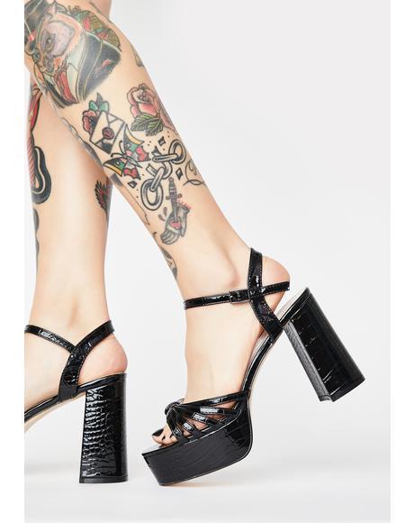Nadia Platform Heels