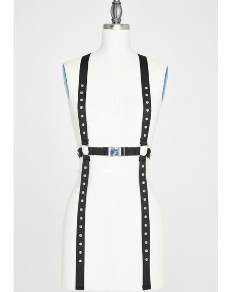 Dungeon Punk Buckle Harness