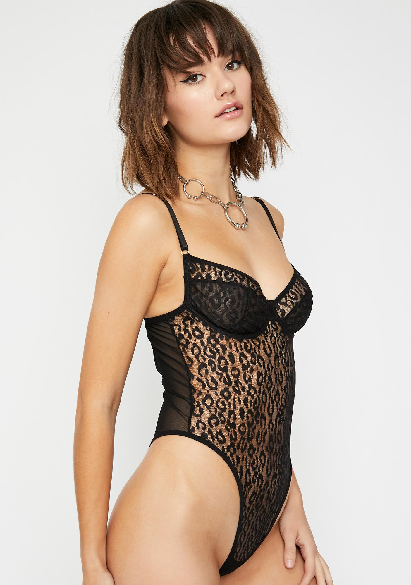 Luxx N' Lavish Sheer Bodysuit