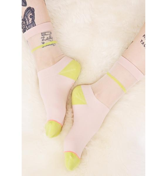 Stance Foxy Sheer Anklet Sock