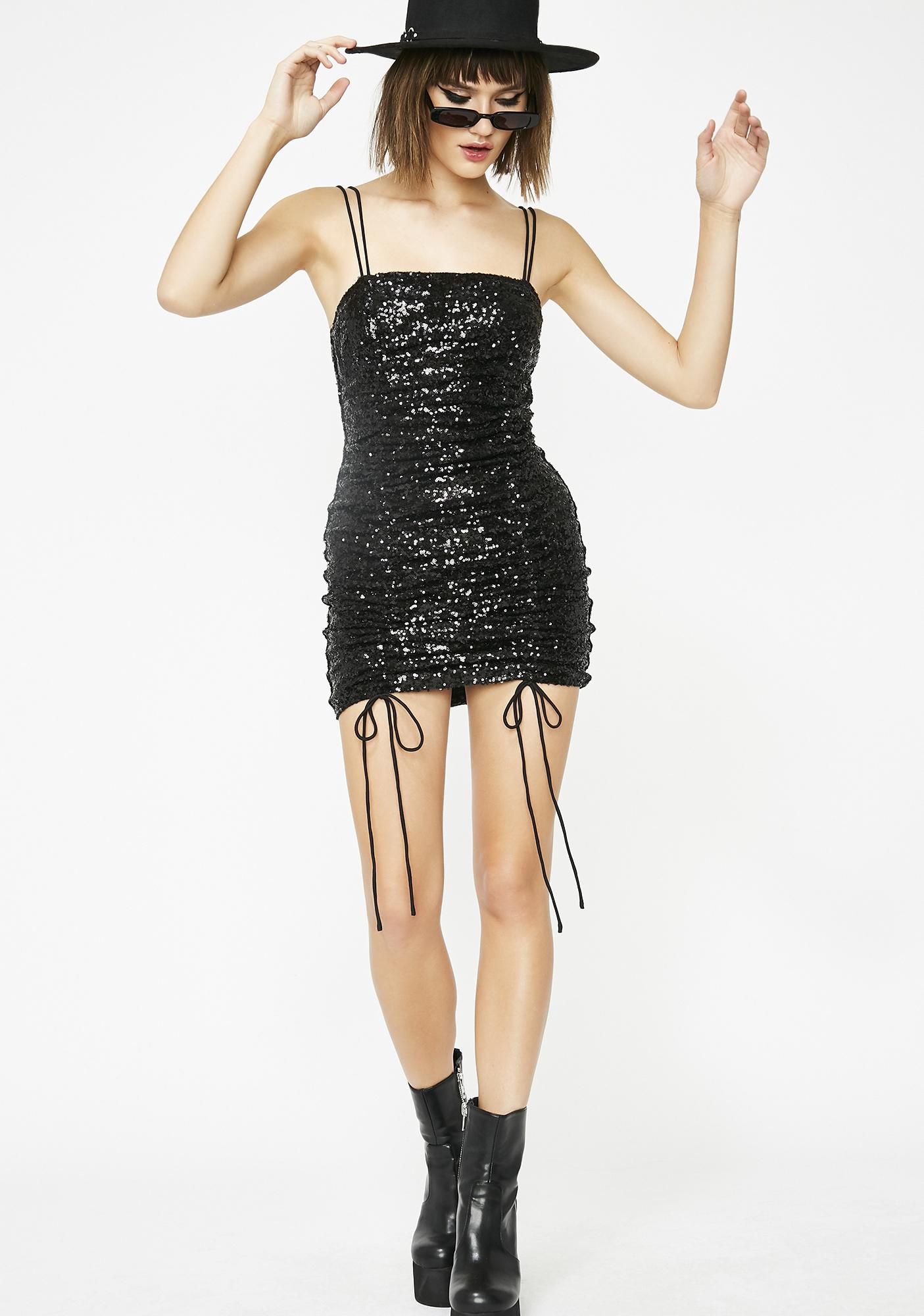 Flashin' Lights Sequin Dress