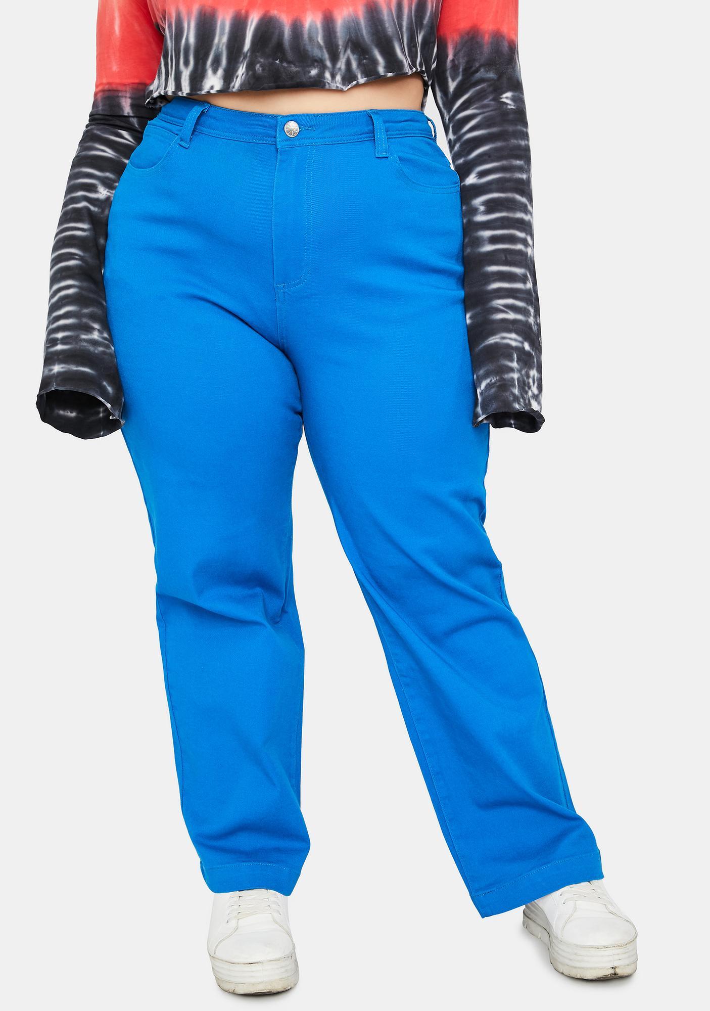 dELiA*s by Dolls Kill Truly Frozen Over Carpenter Pants