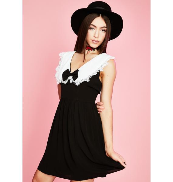 Sugar Thrillz A La Mode Babydoll Dress