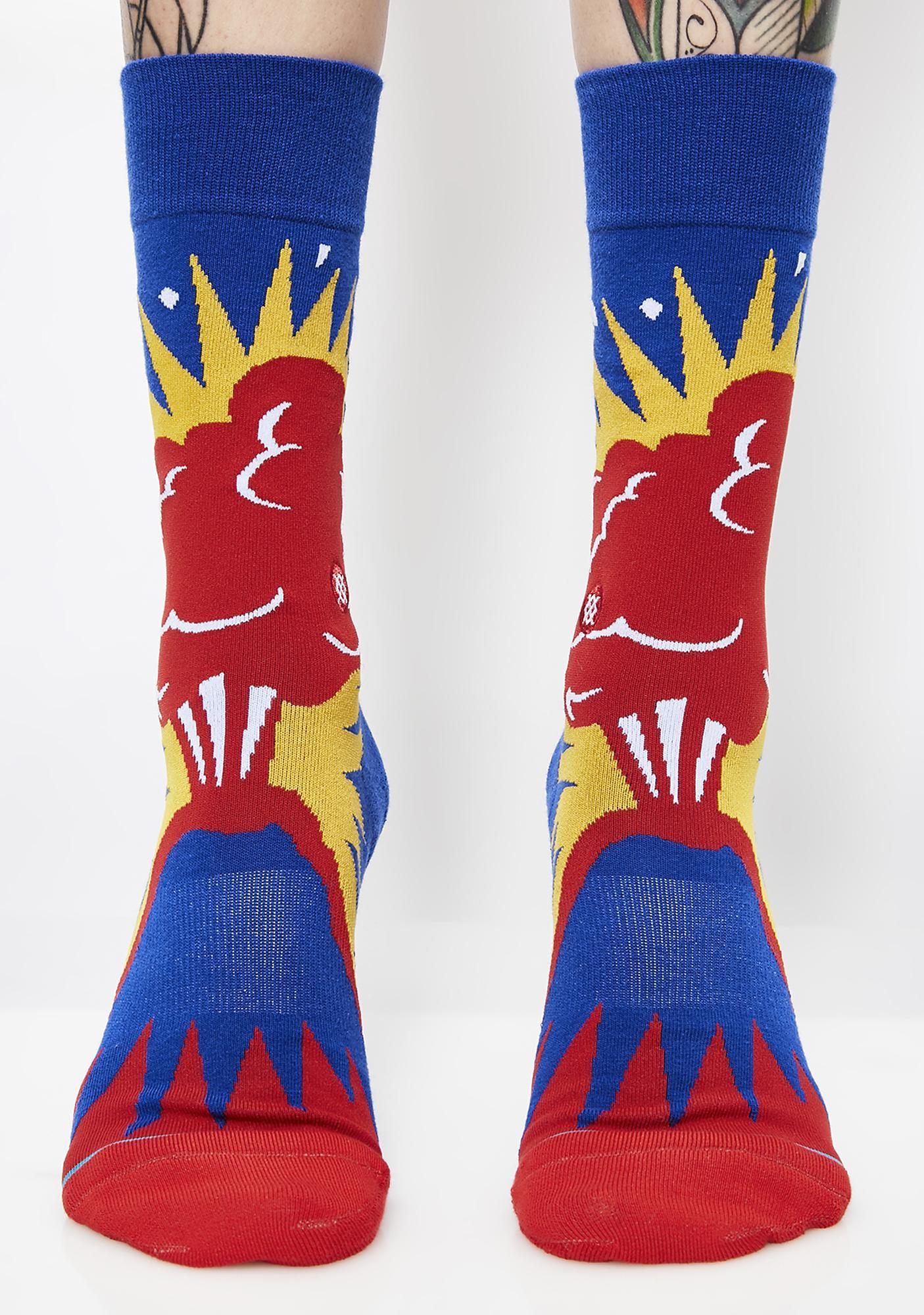 Stance Volcano Crew Socks