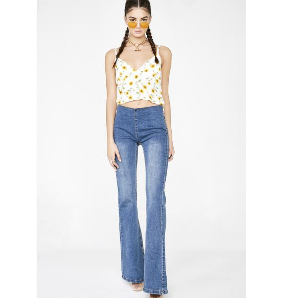 Sunshiny Day Crop Top