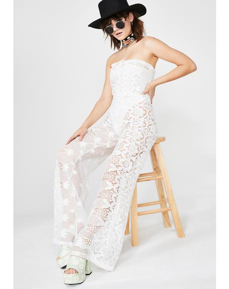 Moonshine Freeze Lace Jumpsuit