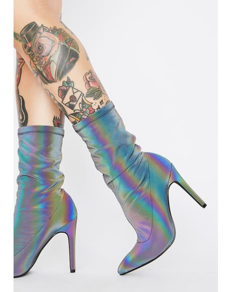 Live To Shine Reflective Booties