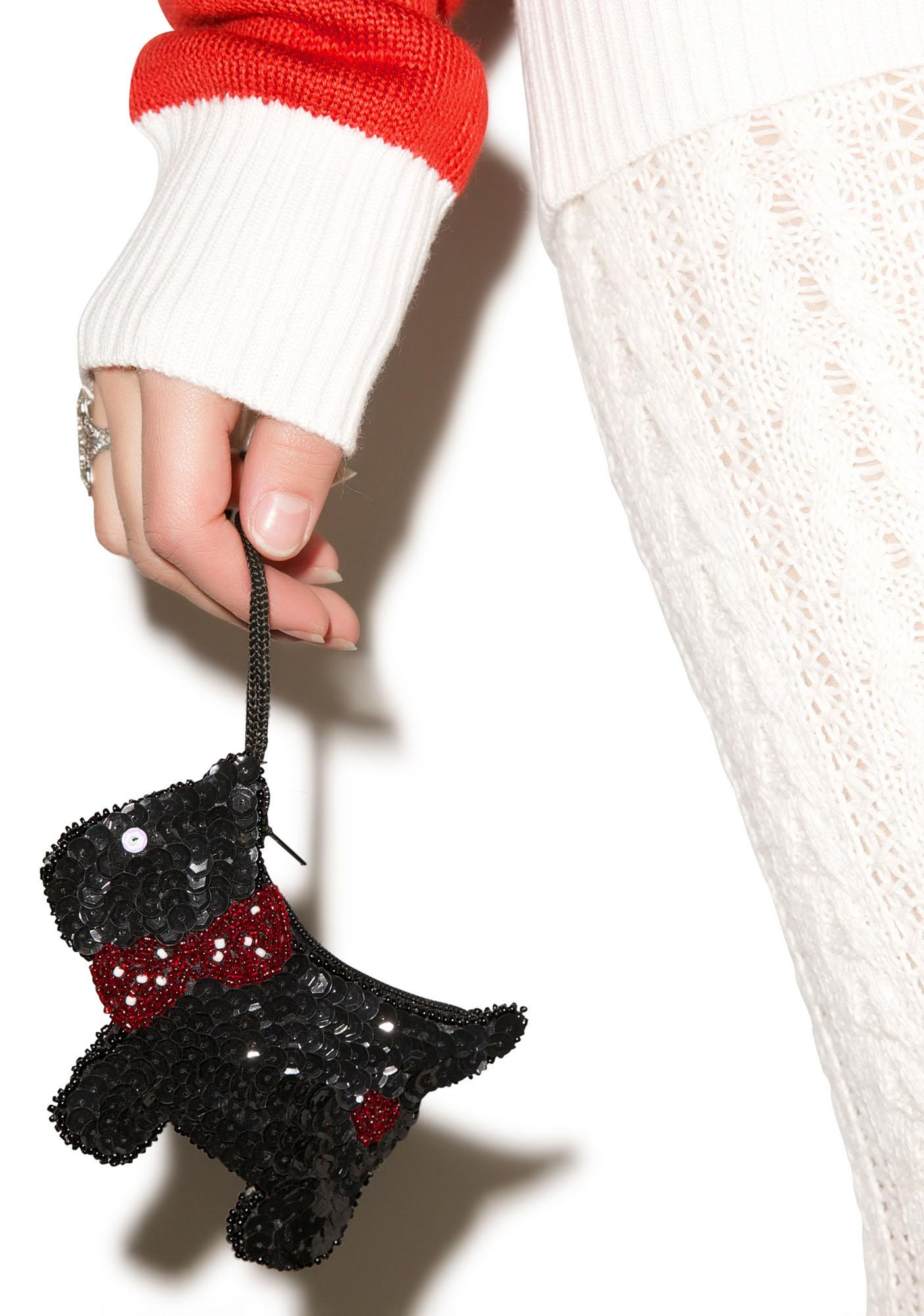 Scottie Sequin Coin Purse