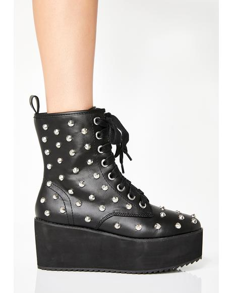 Studded Stomp Hi Boots